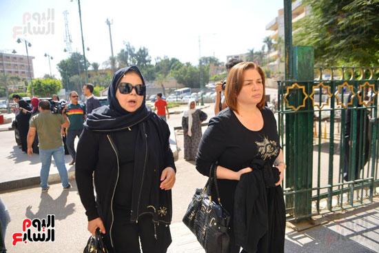 الهام شاهين وماجدة زكى (2)