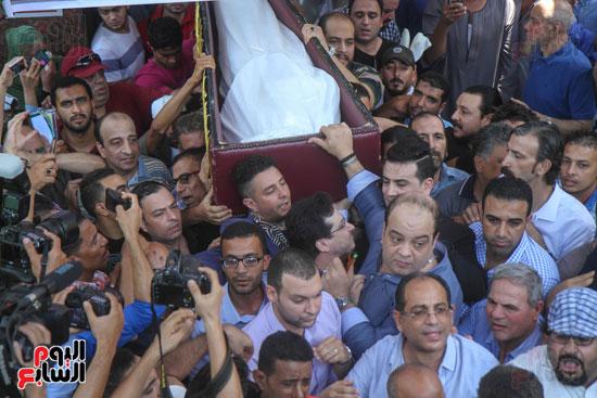 جنازة فاروق الفيشاوى (12)