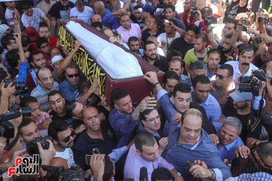 جنازة فاروق الفيشاوى (14)