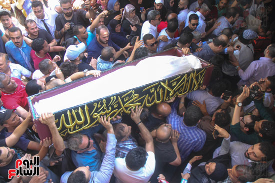 جنازة فاروق الفيشاوى (19)