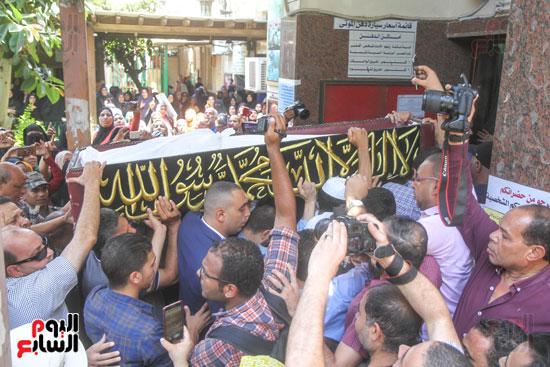 جنازة فاروق الفيشاوى (20)