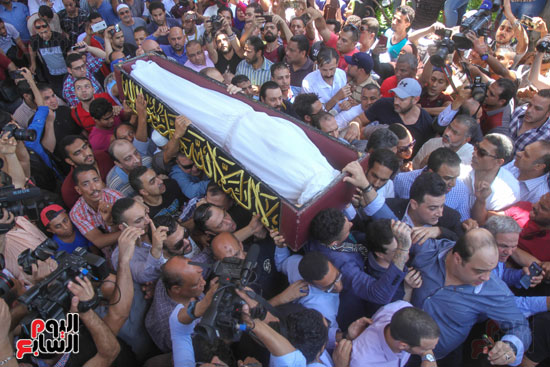 جنازة فاروق الفيشاوى (16)