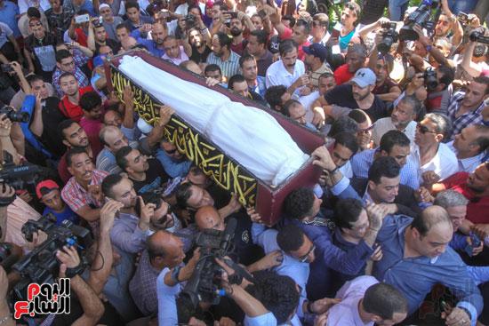جنازة فاروق الفيشاوى (17)