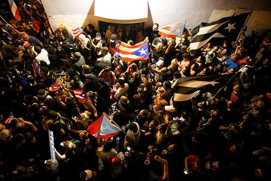 استمرار الاحتجاجات ضد الحاكم روسيلو
