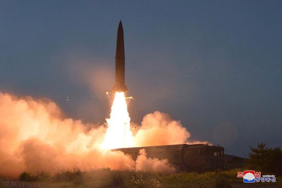 لحظة انطلاق الصاروخ