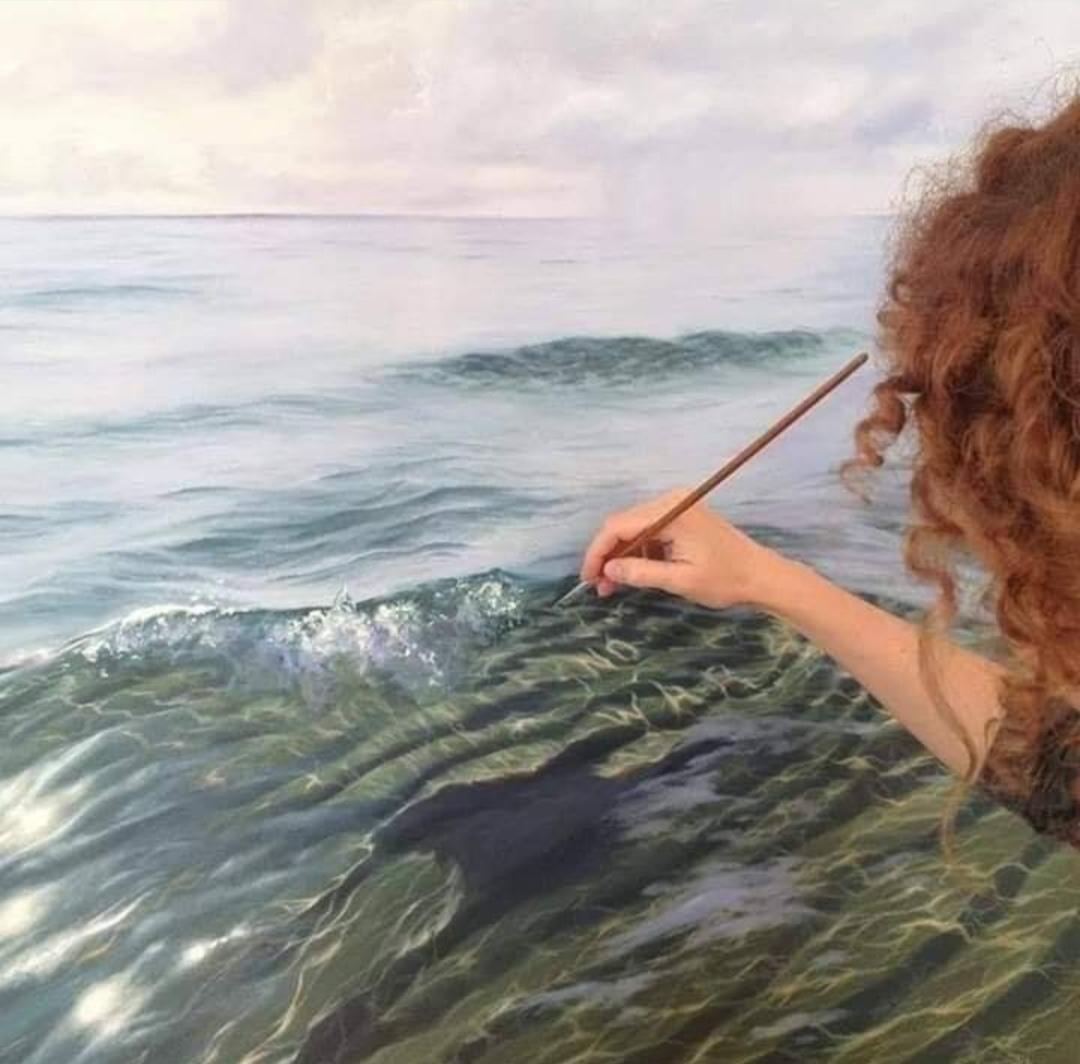 رسم الماء (1)