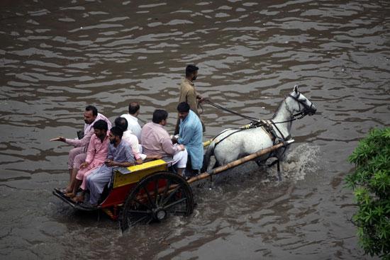 ارتفاع منسوب مياه الامطار
