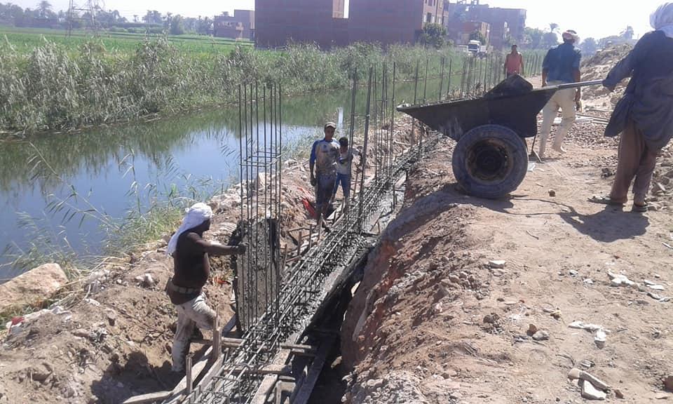 أعمال تطوير طريق الدير (4)