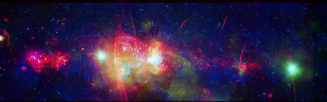 صورة فى مجرة درب التبانة