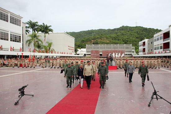 جانب-من-مشاركة-رئيس-فنزويلا