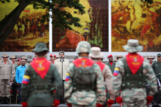 الرئيس-الفنزويلى-أثناء-كلمته