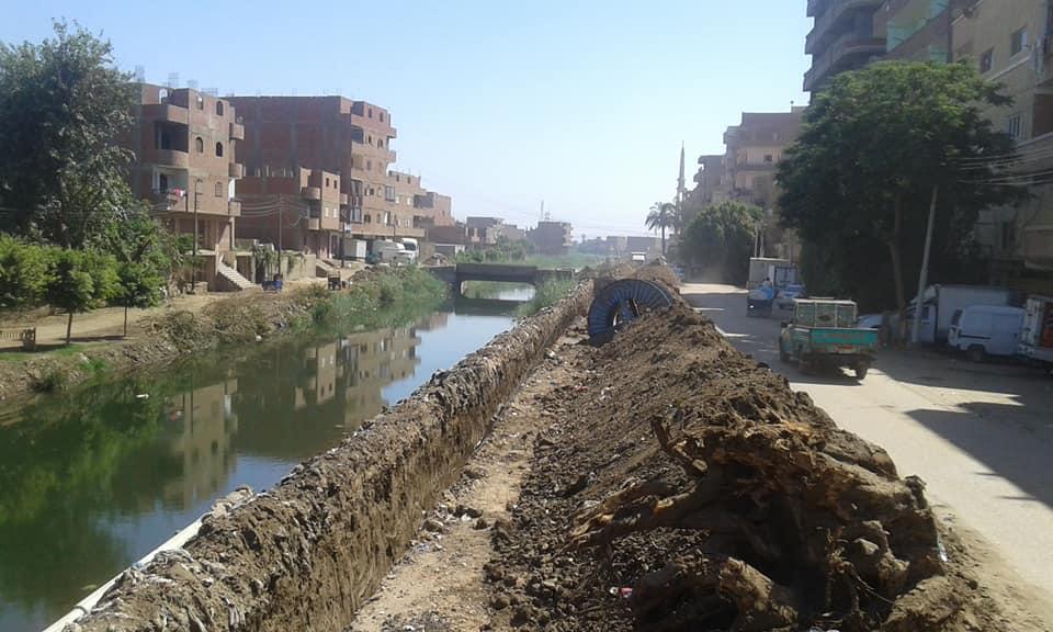 أعمال تطوير طريق الدير (3)