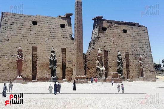 تمثال الملك رمسيس الثانى (3)