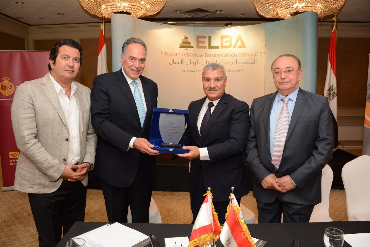الجمعية المصرية اللبنانية تكرم رئيس هيئة الصادرات والواردات