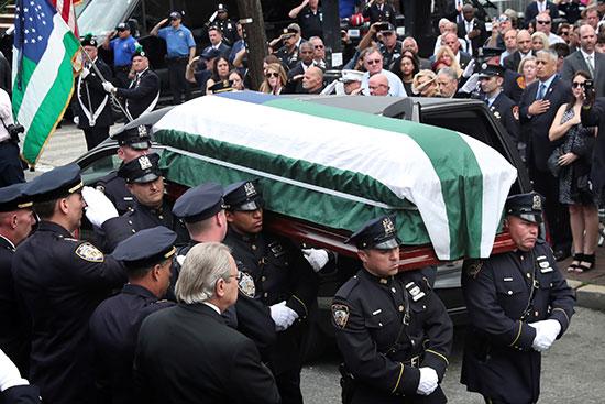 Funeral proceedings of Luis Alvarez
