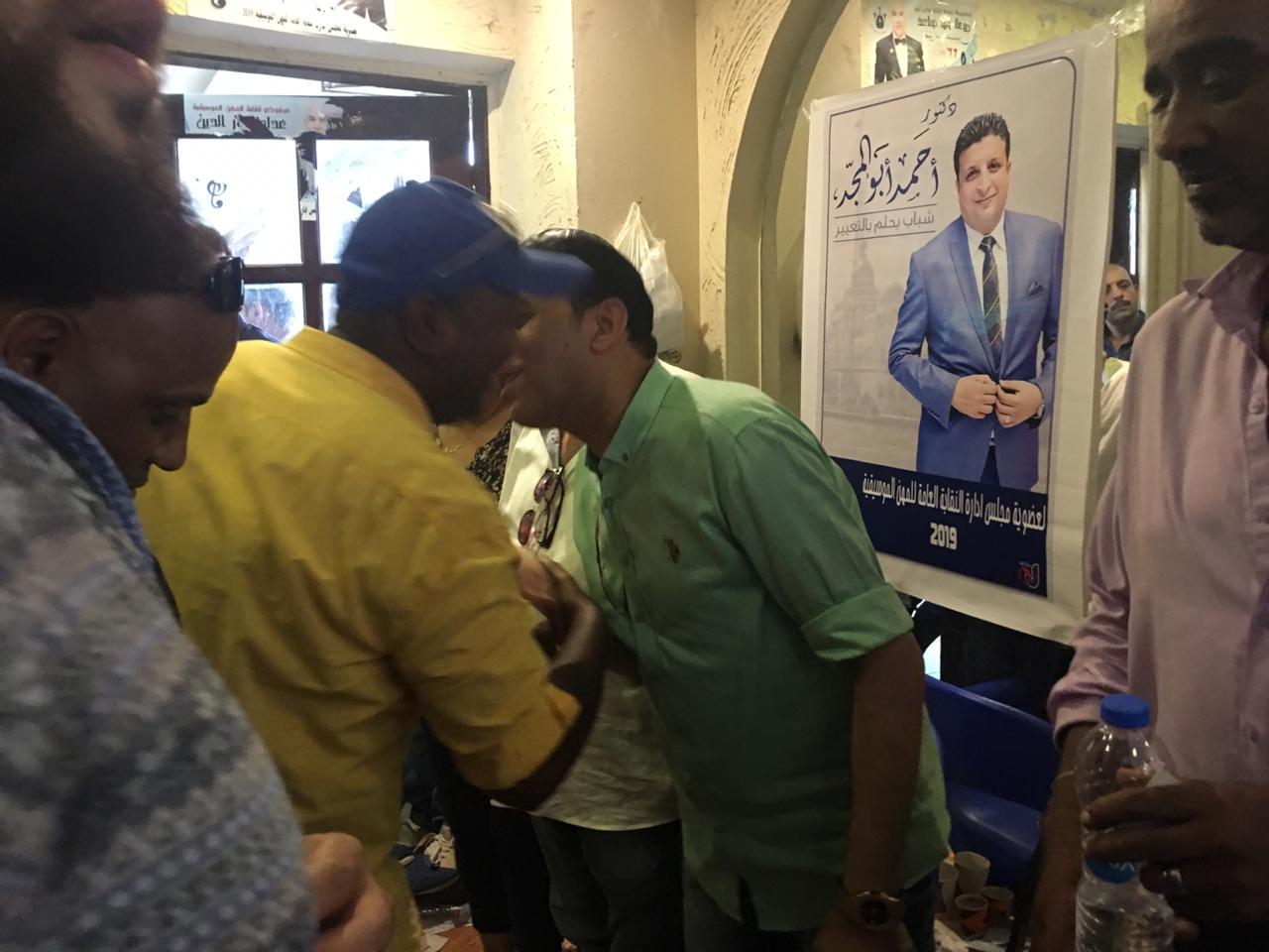 خالد جلال يكرم صناع سينما مصر (1)