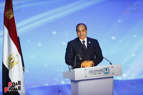 المؤتمر الوطنى السابع للشباب بحضور الرئيس عبد الفتاح السيسى (3)