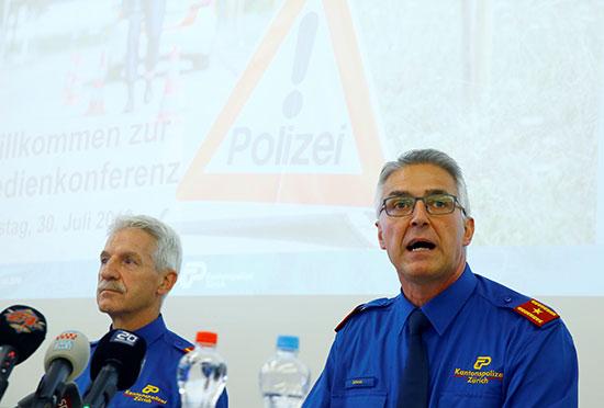 مسئولى الشرطة يعلقون على الحادث