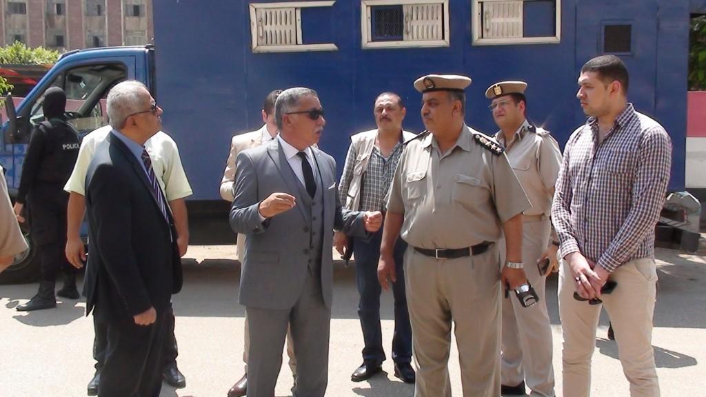 مدير أمن المنوفية يتفقد الخدمات الامنية بمدينة شبين الكوم (3)