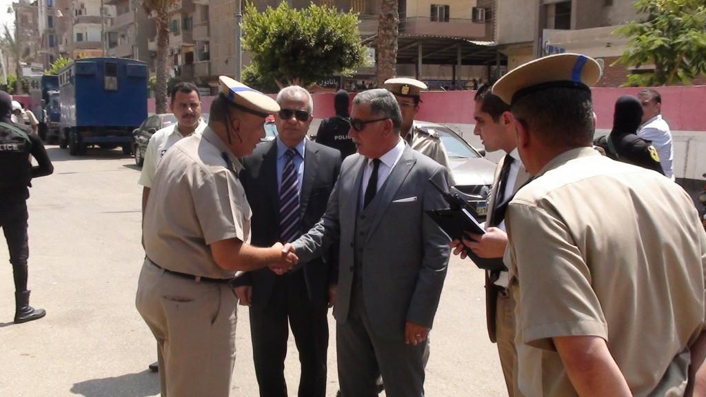 مدير أمن المنوفية يتفقد الخدمات الامنية بمدينة شبين الكوم (2)