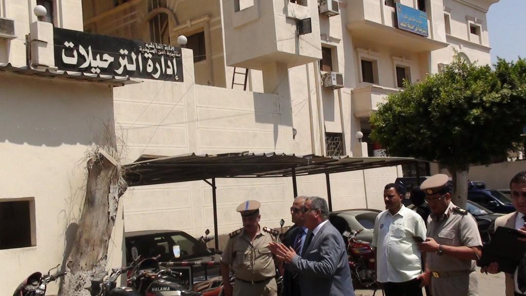 مدير أمن المنوفية يتفقد الخدمات الامنية بمدينة شبين الكوم (1)