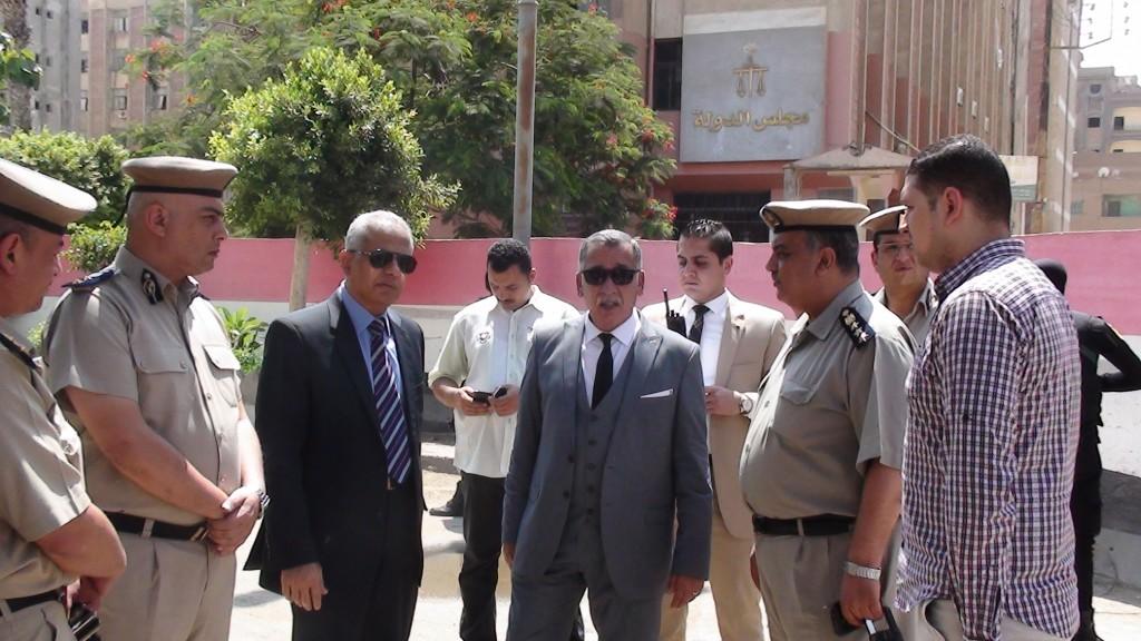 مدير أمن المنوفية يتفقد الخدمات الامنية بمدينة شبين الكوم (4)