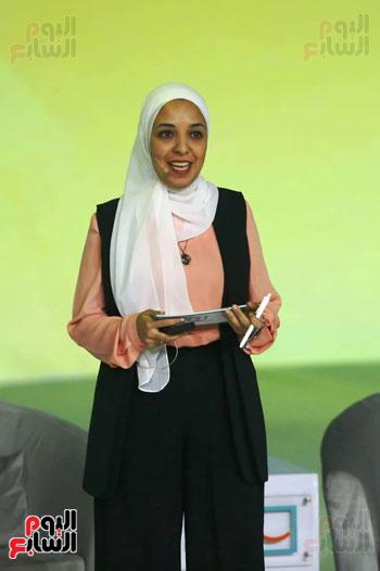 السيسي يطلق مبادرة حياة كريمة بمؤتمر الشباب (5)
