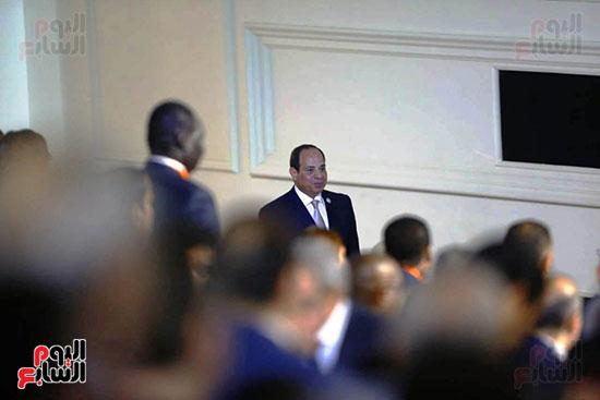 الرئيس السيىس فى مؤتمر الشباب