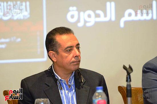 المؤتمر الصحفي الخاص بالدورة الثانية عشر للمهرجان القومي للمسرح المصري  (13)