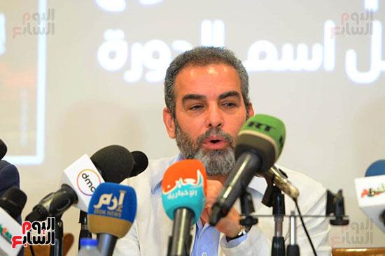 المؤتمر الصحفي الخاص بالدورة الثانية عشر للمهرجان القومي للمسرح المصري  (5)