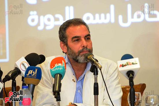 المؤتمر الصحفي الخاص بالدورة الثانية عشر للمهرجان القومي للمسرح المصري  (18)