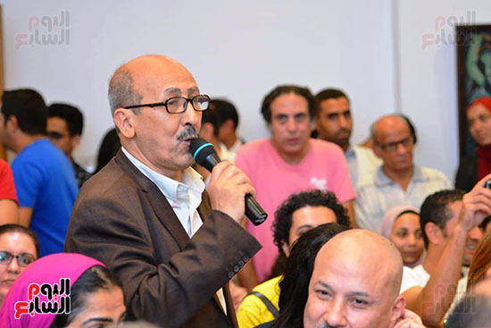 المؤتمر الصحفي الخاص بالدورة الثانية عشر للمهرجان القومي للمسرح المصري  (2)