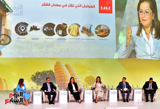 السيسي يطلق مبادرة حياة كريمة بمؤتمر الشباب (2)