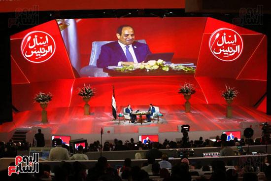 مؤتمر اسأل الرئيس (6)