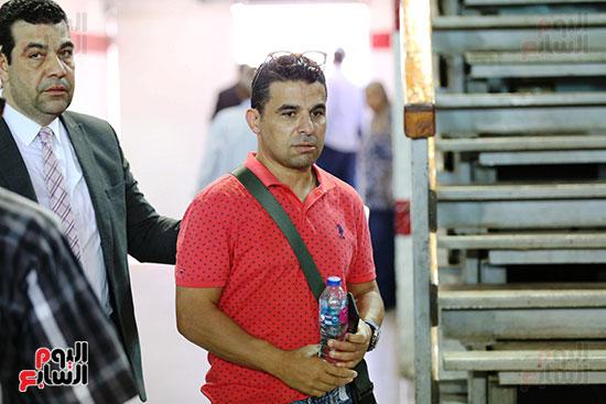 خالد الغندور في مؤتمر تقديم صفقات الزمالك