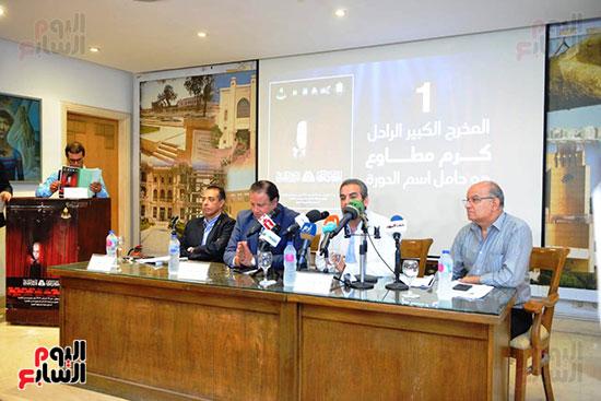 المؤتمر الصحفي الخاص بالدورة الثانية عشر للمهرجان القومي للمسرح المصري  (17)