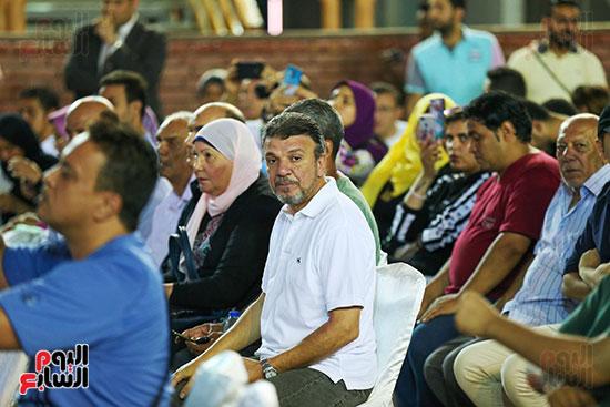 الفنان أحمد سلامة في مؤتمر تقديم صفقات الزمالك