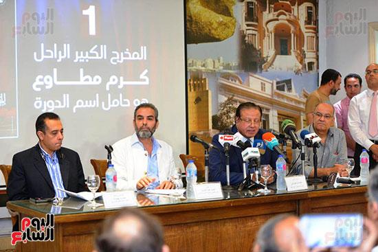 المؤتمر الصحفي الخاص بالدورة الثانية عشر للمهرجان القومي للمسرح المصري  (16)