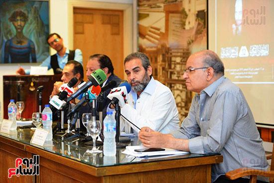 المؤتمر الصحفي الخاص بالدورة الثانية عشر للمهرجان القومي للمسرح المصري  (10)