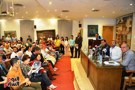 المؤتمر الصحفي الخاص بالدورة الثانية عشر للمهرجان القومي للمسرح المصري  (12)