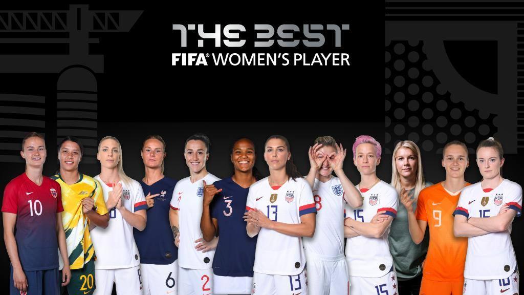 قائمة المرشحين للحصول على جائزة أفضل لاعبه فى 2019