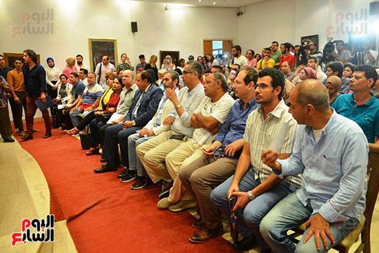المؤتمر الصحفي الخاص بالدورة الثانية عشر للمهرجان القومي للمسرح المصري  (15)
