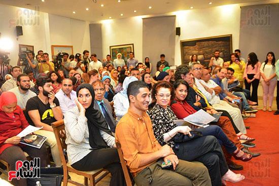 المؤتمر الصحفي الخاص بالدورة الثانية عشر للمهرجان القومي للمسرح المصري  (11)