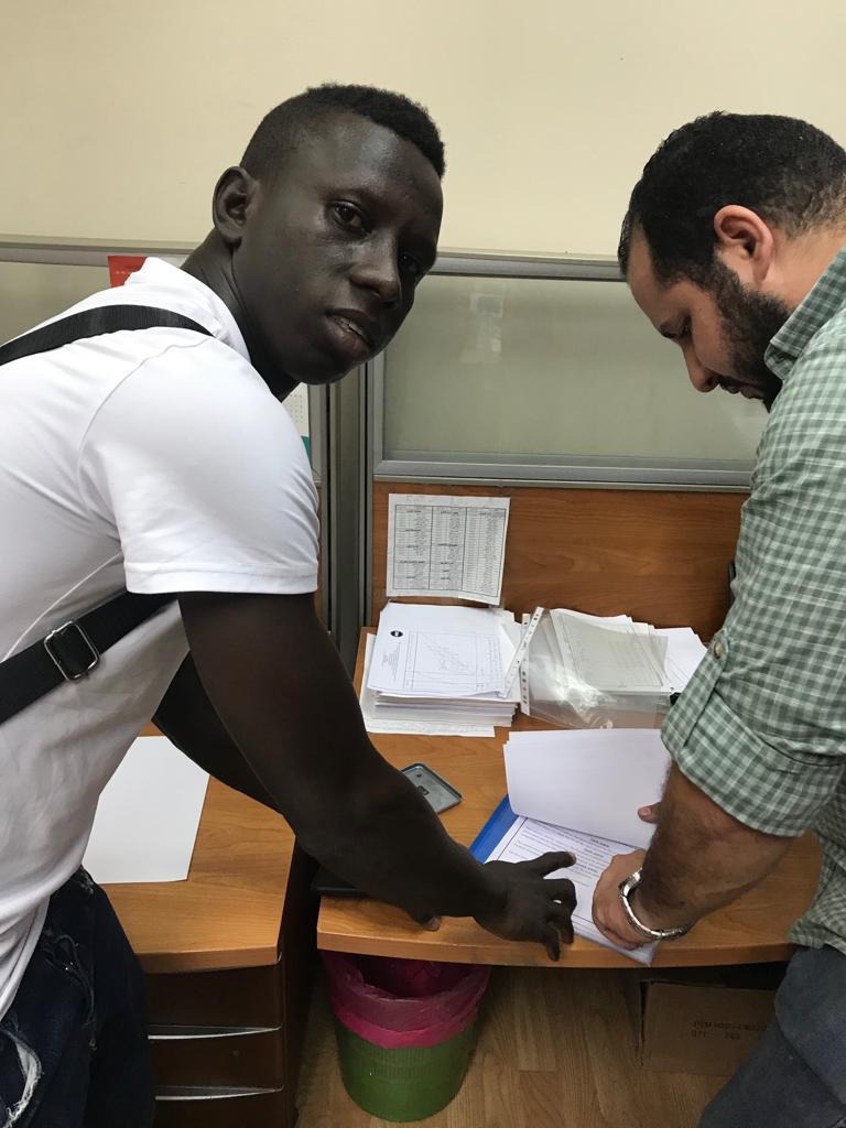 الشرطة العراقى يُنهى إجراءات استعارة ديارا من إنبى