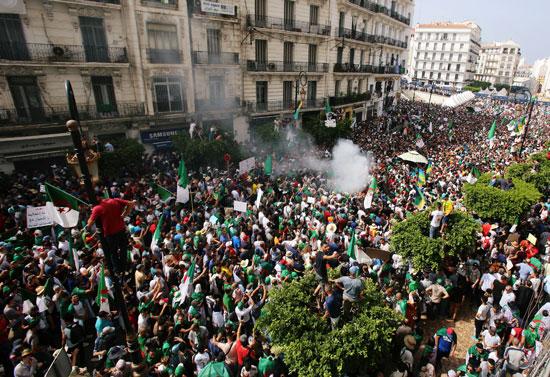 مسيرات الجزائر