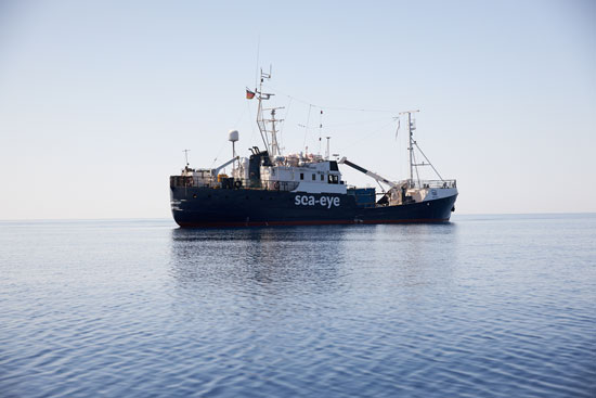 السفينة الألمانية فى المتوسط