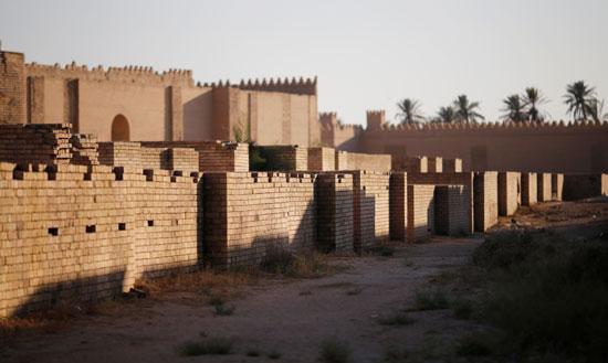 جانب من المواقع الأثرية