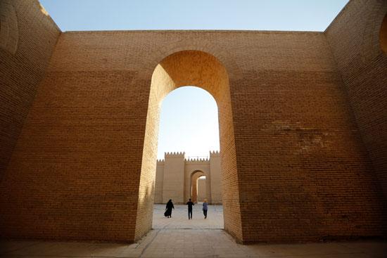 مواقع أثرية فى بابل