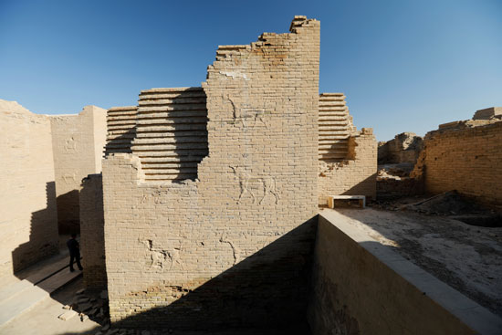 موقع أثرى فى بابل العراقية