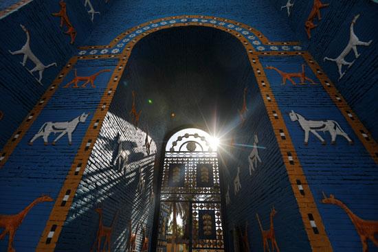 بوابة عشتار فى مدينة بابل